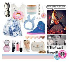 """HBD NIALL!"" by alybonano ❤ liked on Polyvore featuring Chanel, Supra, Disney, Payne, Lancôme, ALDO, Maison Margiela, Wildfox and NiallHoran"