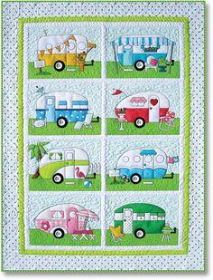 Camper Trailers quilt