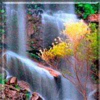 photo waterfall_pvhe4y7h.gif Gifs, Animated Gif, Northern Lights, Dancing, Portugal, Animation, Amazing, Photos, Waterfalls