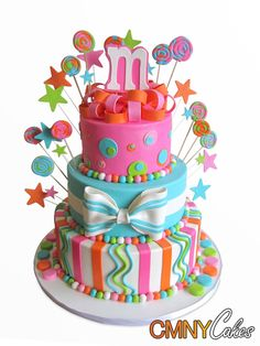 #KatieSheaDesign ♡❤ ❥ Fun Cake!!