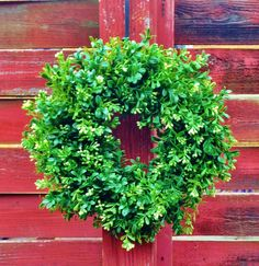 A personal favorite from my Etsy shop https://www.etsy.com/listing/206141779/thick-and-full-boxwood-wreath-artificial
