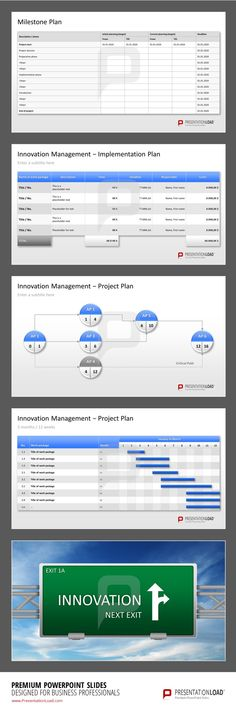 Use the Innovation Management PowerPoint Templates to give a detailed summarize of your innovation project. #presentationload www.presentationl...