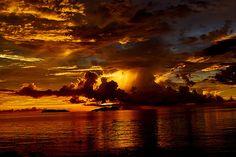 breathtaking sunset...