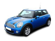 Mini One not in this colour! either oxygen blue, horizon blue, ice blue or pepper white Car Leasing, Lease Deals, Hatchbacks, Hatchback Cars, Mini One, My Favorite Color, Dodge, Pepper, Automobile
