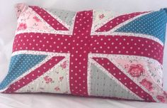 Not usually into the union jack but this Shabby Chic Union Jack Cushion is just so pretty i love the patchwork effect £15.00