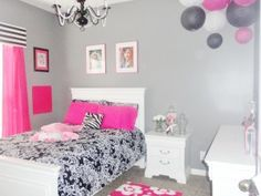 few ideas for Taylor's  new room - color scheme is the same!