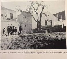 Mosque, Old Pictures, Cape Town, South Africa, Past, Scene, Future, History, Vintage