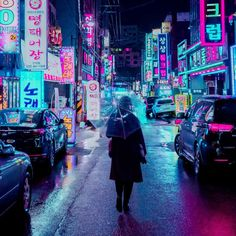 Cyberpunk, Neon And Futuristic Street Photos Of Seoul By Steve Roe Cyberpunk City, Cyberpunk Kunst, Cyberpunk Aesthetic, Neon Aesthetic, Neon Nights, City Wallpaper, Night City, City Photography, Retro Futurism