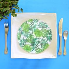 Create your own decorative plates that are food-safe AND dishwasher-safe!
