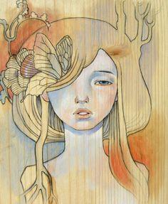 Audrey Kawasaki | Audrey Kawasaki e suas cativantes pinturas… Magrini Artes