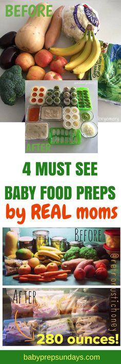 Baby Food Preps by Real Moms