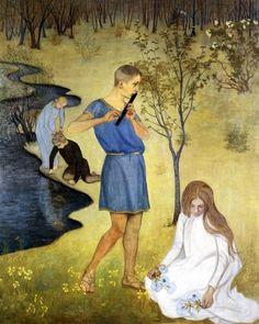Beda St jernschantz Primavera Pastoral 1897