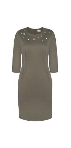 Sukienki codzienne - Kolekcja jesienna || Modne sukienki - ModernLine Cold Shoulder Dress, Dresses, Fashion, Vestidos, Moda, Fashion Styles, Dress, Dressers, Fashion Illustrations