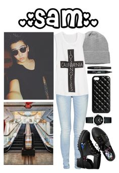 """Shopping with Sam Pottorff?"" by sarah-alp ❤ liked on Polyvore featuring Monki, ONLY, The Case Factory, H&M, NYX, Movado, women's clothing, women's fashion, women and female"