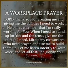Quotes About Prayer, Prayer Quotes For Strength, Prayer For Guidance, Prayers For Strength, Lord's Prayer, Prayer Scriptures, Bible Prayers, Daily Prayer, Inspirational Quotes For Workplace