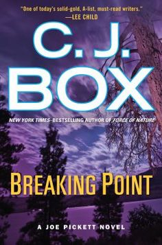 In C.J. Box's 13th book in the Joe Pickett series, Joe, a Wyoming game warden, must weigh his devotion to law enforcement versus his personal values and integrity. The story starts off with murder of two EPA agents and the flight of accused murder Butch Roberson.  Box's books are always full of suspense and action.  A good read!
