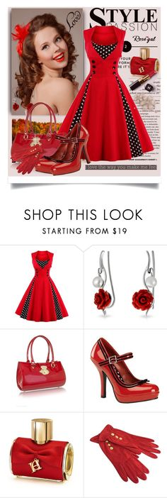 """Pin Up Vintage dresses"" by manuela-cdl ❤ liked on Polyvore featuring Bling Jewelry, L.A.P.A., Pinup Couture, Carolina Herrera, Chanel, Emanuel Ungaro, vintage, Sweater, plussize and rosegal"
