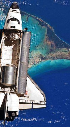 Atlantis over the Bahamas