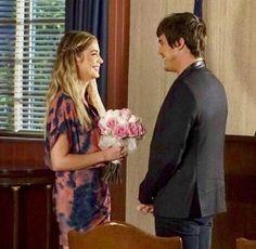 Hanna and Caleb-Pretty Little Liars.