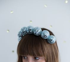 Make a headband to wear when you're feeling groovy. | 35 DIY Projects That Are Just F@*king Awesome
