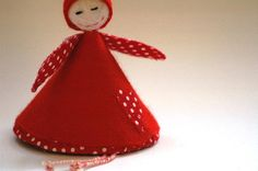 Items similar to Freya the Christmas Fairy - Christmas Decoration or Ornament (Red) on Etsy Christmas Decorations, Christmas Ornaments, Holiday Decor, Christmas Fairy, Red Felt, Etsy, Collection, Christmas Decor, Christmas Baubles