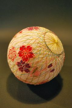 Temari balls over on the blog. Love the detail
