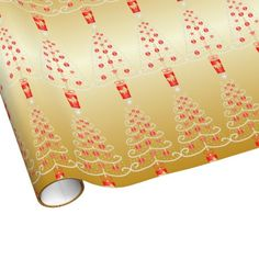 Christmas tree wrapping paper to wrap up those important Christmas gifts