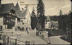 Corpul de garda si Castelul Pelisor Romania, Cathedral, Travel, Times, Diy, Houses, Viajes, Bricolage, Cathedrals