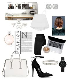 """""""White'n black"""" by pelinsu-demirci on Polyvore featuring Opening Ceremony, Chanel, Urban Outfitters, Cartier, Newgate, Charlotte Russe, Frederic Sage, French Connection and A.L.C."""