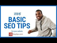 5 basic SEO tips to help rank your website in the search engines -   Social marketing packages at a fraction of the cost! Outsource now! Check our PRICING! #marketing #socialmedia #seo #optimization #social For more business tips visit:  Let me sell your products or services for you:   Google webmaster tools:  Bing webmaster tools:  In this video I share 5... - #SEOtips