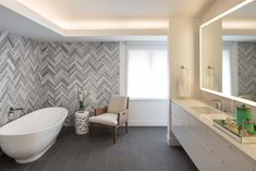Bathroom floors to enhance the bathroom design Bathroom floors herringbone tile wall uplifts modern master bathroom AWFKZVI Bathroom Flooring Options, Vinyl Flooring Bathroom, Bathroom Vinyl, Bathroom Wallpaper, Bathroom Floor Tiles, Shower Floor, Flooring Ideas, Design Bathroom, Vinyl Tiles