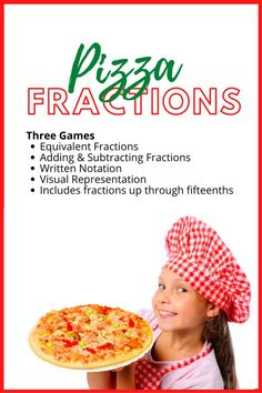 Fractions can be confusing! These games will help your kiddos master equivalent fractions, adding and subtracting fractions, the written and visual forms of fractions, and they'll understand exactly why fractions with larger denominators are actually smaller than fractions with smaller denominators. #mathisfun #mathgames #homeschoolmath #homeschoollife #homeschooling Adding And Subtracting Fractions, Equivalent Fractions, Dividing Fractions, Multiplying Fractions, Multiplication, Math Division, Long Division, Math Fraction Games, Homeschool Math