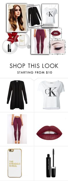 """ Baby Burgundy "" by nadiak-25 ❤ liked on Polyvore featuring Komar, Monsoon, Calvin Klein Jeans, BaubleBar and Marc Jacobs"