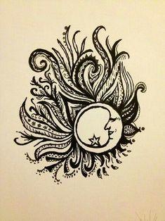 Moon medallion