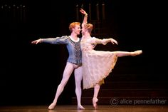 """Evgenia Obraztsova as Juliet and  Steven McRae as Romeo in Kenneth MacMillan´s """"Romeo and Juliet"""" at The Royal Ballet (October 19, 2013) # Photo © Alice Pennefather"""