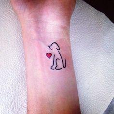 41 Love Dog Tattoo