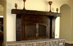 22 popular mantel and corbels images fire places fireplace ideas rh pinterest com