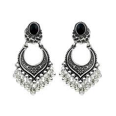 MIXIA Bohemian Fashion Charm Women Stylish Gold//Silver Color Star Streamlined Tassel Long Crystal Earrings Women Girl Jewelry