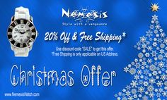 The Great Christmas Offer. Get 20% Off with Free Shipping on All US Address. Order Your Nemesis Watch Now! www.NemesisWatch.com