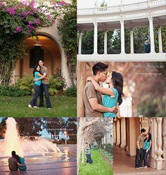 Balboa Park museum engagement photography, San Diego, CA, Engagement Photography, Gilmore Studios, Kiss, Love, Engagement, Couple