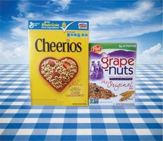 Cheerios and Grape Nuts go non-gmo I hope this is true won't eat till it says no gmos on the box