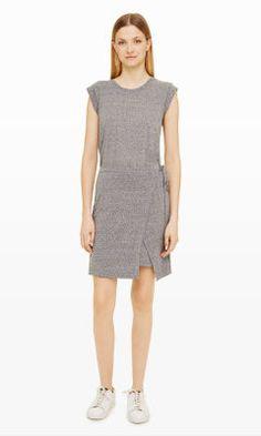Womens   Zani Wrap Dress   Club Monaco