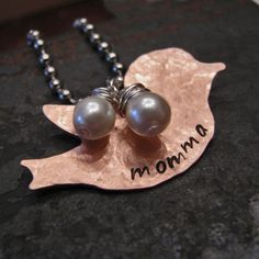 Momma Bird Necklace - $15.99. https://www.bellechic.com/products/4ff33a24bd/momma-bird-necklace