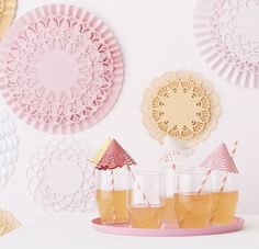 Add dimension and beautiful designs to your party crafts with the Circle Edge Punch from #marthastewartcrafts