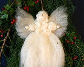 Waldorf Christmas Angels Fairy Wool (3 pack). £9.00, via Etsy.