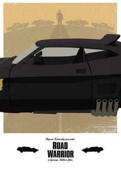 Mad Max 2: The Road Warrior - movie poster - Lewis Dowsett