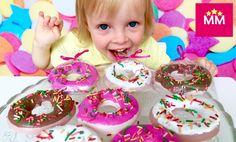Как сделать пончики из мыла Опыты Науки с Буки десткое творчество How to...