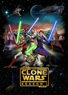 The Clone Wars Season 1 - Star Wars Clones - Ideas of Star Wars Clones - The Clone Wars Season 1 Star Wars Clone Wars, Star Wars Art, Star Trek, Star Wars Clones, Images Star Wars, Star Wars Pictures, Godzilla, Transformers, Guerra Dos Clones