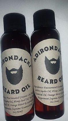 Adirondacks Beard Oil  2oz - tea tree oil scent #Adirondacks