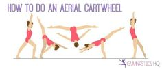how to do an aerial cartwheel Learn Gymnastics At Home, Gymnastics For Beginners, Aerial Gymnastics, Gymnastics Stretches, Gymnastics Tricks, Gymnastics Flexibility, Gymnastics Skills, Gymnastics Workout, Olympic Gymnastics